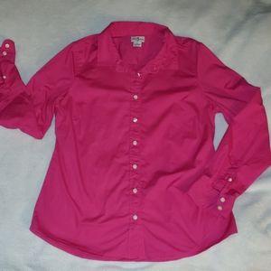J.Crew Pink Button Down Shirt